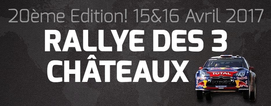 Rallye des 3 Châteaux 2017